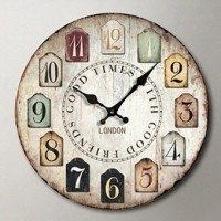 Cassablu wall clocks vintage models Good Time with Good Friends.
