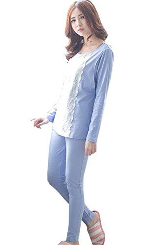 [Bearsland Women's Japanese Weekend Maternity Nursing Pajamas set] (Japanese Weekend Nursing Pajamas)