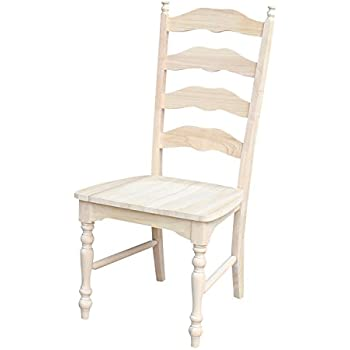 International Concepts Maine Ladderback Chairs, Set Of 2