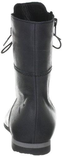 Think Vita 89046 - Botines clásicos de cuero para mujer Negro (Schwarz (schwarz 00))