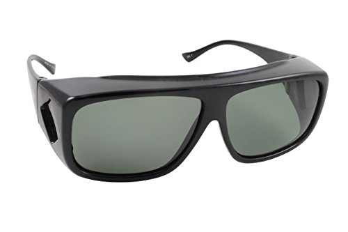 Overalls Sunglasses with Polarized Black and Grey Lens – DiZiSports Store