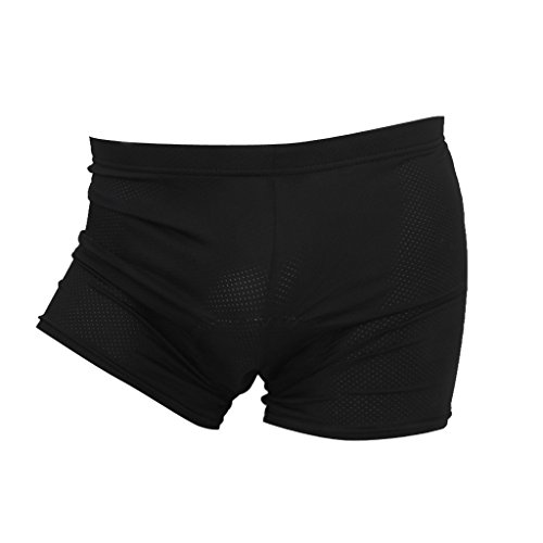 Lista Men's Cycling Riding Underwear Gel 3D Padded Shorts L-13010037MG Price & Reviews