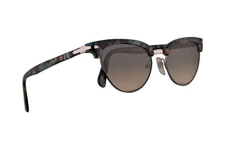 Persol PO3198S Tailoring Edition Sunglasses Tortoise Azure w/Grey Gradient 51mm Lens 107032 PO 3198S PO 3198-S ()