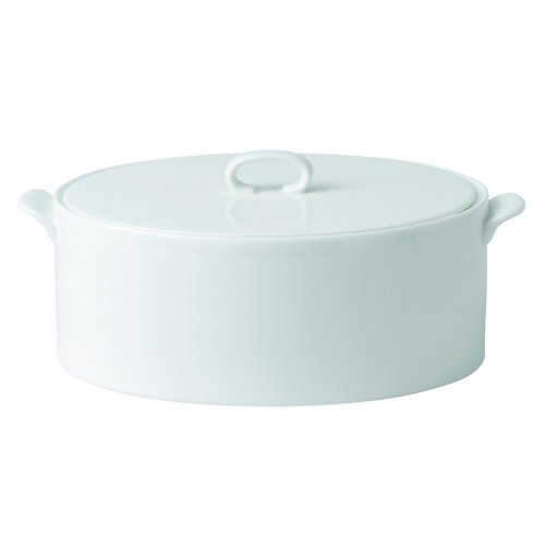 Wedgwood Ashlar Covered Vegetable Bowl, 1.4-Liter, -