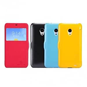 NILLKIN PU Leather Protective Case For MEIZU MX3 --- Color:Red