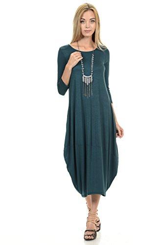 Pastel by Vivienne Women's Cocoon Midi Dress Large -