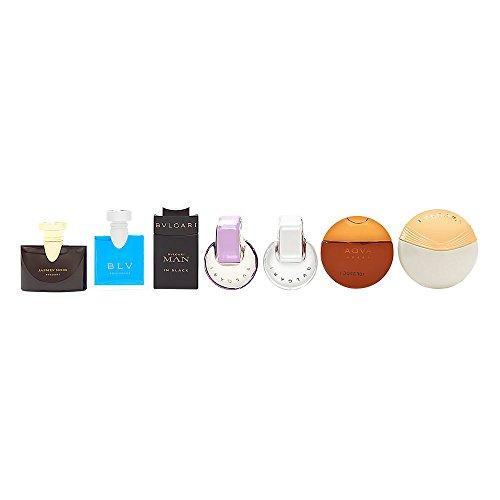 BVLGARI 7 Piece Fragrance Mini - Women Black Bvlgari For