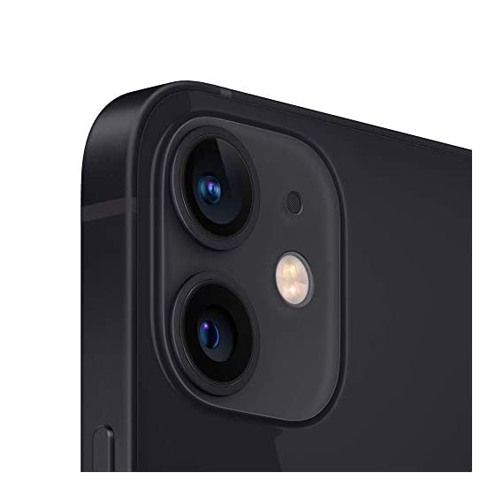 New Apple iPhone 12 Mini (256GB) - Black with Apple 20W USB-C Power Adapter