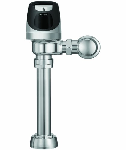 Sloan Valve SOLIS 8111-1.28 SOLIS Solar Powered Water Closet Flushometer, Chrome by Sloan Valve