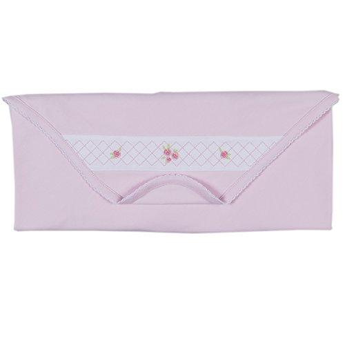 - Kissy Kissy Baby Girls Rose Garden Blanket - Pink-One Size