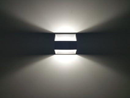Lineteckled® e08.001.05n applique led da parete a forma trapezoidale