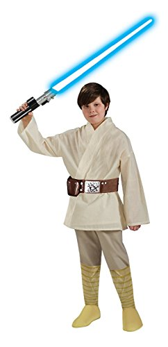 Star Wars Child's Deluxe Luke Skywalker Costume, Medium