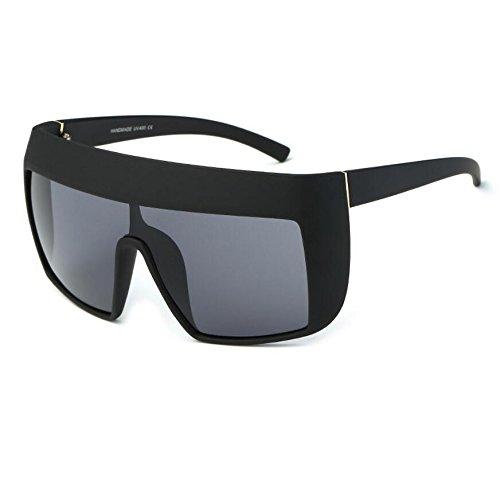 Flat KXLEB Sonnenbrille C7 Quadrat Oversize C2 Frauen Acetat Top Sonnenbrille Retrobrille rqpUwIq1