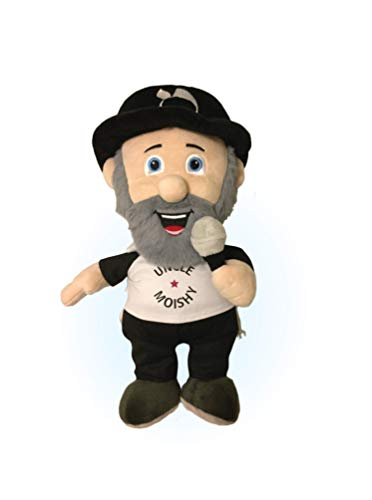 Uncle Moishy Plush Toy - Soft and Playful Stuffed Doll - Official Design with Iconic