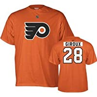 Reebok Philadelphia Flyers Claude Giroux Orange Tee