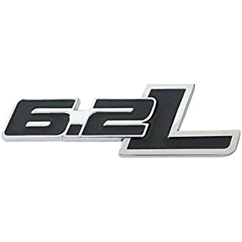 Badge Name Plate Decal Replaces OEM For Ford Chevrolet x1 6.2L Emblem