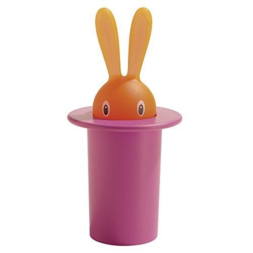 A di Alessi Magic Bunny Toothpick Holder, Pink