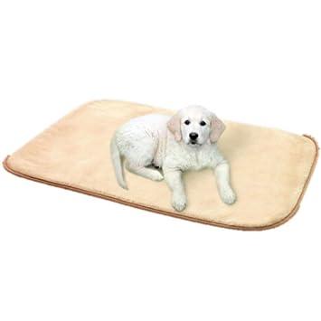 medif Polar lavable a máquina hasta 60 ° Perros techo Perros cama extra grande - Beige - 130 x 150 cm: Amazon.es: Productos para mascotas