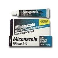 Miconazole Nitrate 2% Antifungal Cream - 0.5 oz (Antifungal Miconazole Cream)