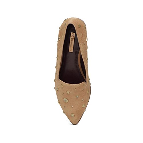 BCBGeneration Nikkola Loafers Pointed Toe Suede Womens Wheat Tan rvH6wqr
