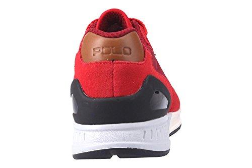 Ralph Lauren Sneaker 809-669838-004 Trian100 Rosso