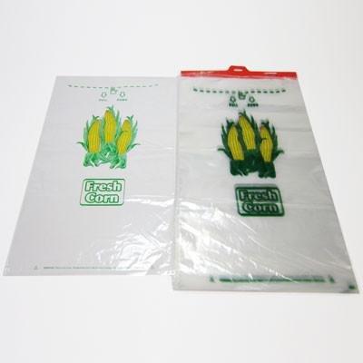 Sweet Corn Bags (plastic)- case of 500 - Farmers ()