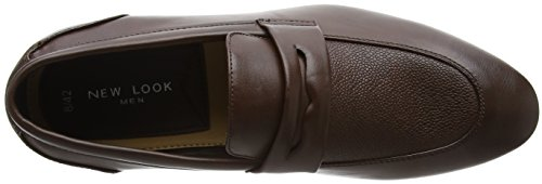 Dark Smart Look Marrone Mocassini New Uomo Loafer 27 Brown Formal RUx05gq