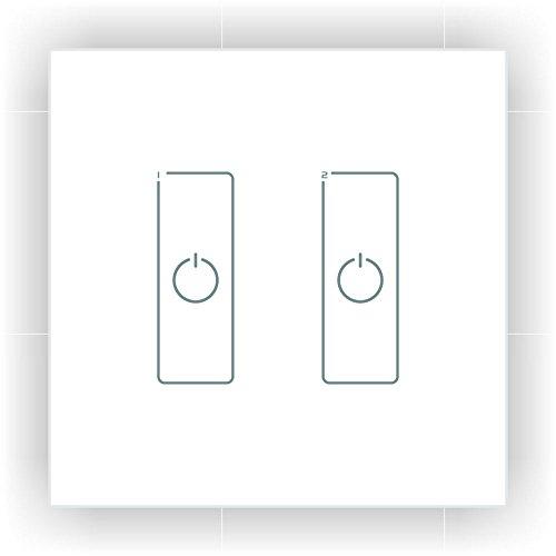 LTRGBW DA2 DALI Dimmer Touch Panel Master Controller DALI Digital Dimming Signal 2CH Switch