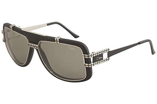Amazon.com: Cazal 661/3 Sunglasses 002 Black Silver 60mm ...