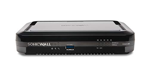 SonicWall | SOHO 250 Base | Security VPN Firewall | 02-SSC-0938 (Best Router Firewall 2019)