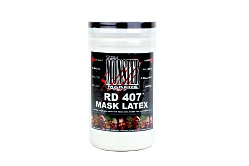The Monster Makers RD-407 Mask Making Latex (1 Quart)