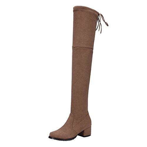 Women's AIYOUMEI AIYOUMEI Women's Brown Boot Classic RzEA4w5qx