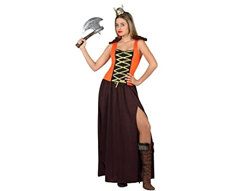 Atosa-22834 Disfraz Vikinga, color marrón, X-large (22834): Amazon ...
