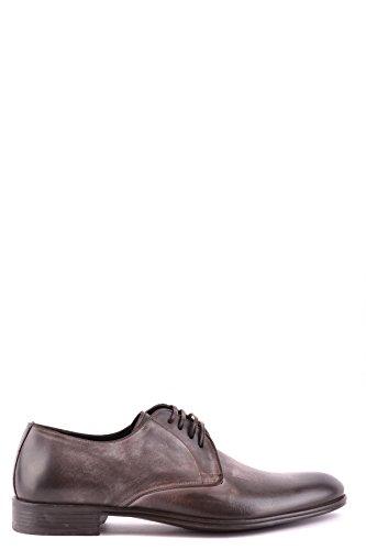 Pelle Marrone Scarpe Uomo Stringate E Mcbi099032o Dolce Gabbana In wqP0Rx8