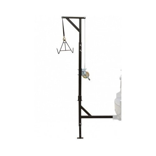 Hunting Deer Game Hoist Gambrel Swivel Hitch Lift System-...