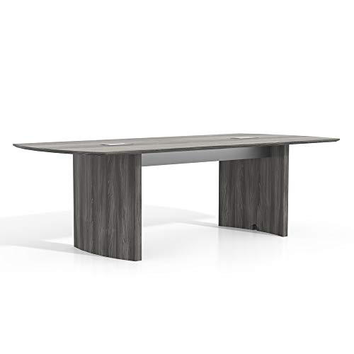 (Safco Products MNC8LGS Medina Table, 8', Gray Steel )