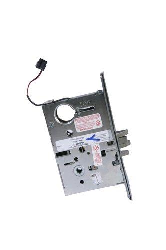 Corbin Russwin ML20903 Satin Chrome Tower Stairwell Lever Electric Mortise Lock, 24 VAC/VDC, 1-3/4
