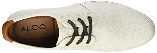 Aldo Adrauni, Zapatos de Cordones Derby para Hombre Blanco (32 Bone)