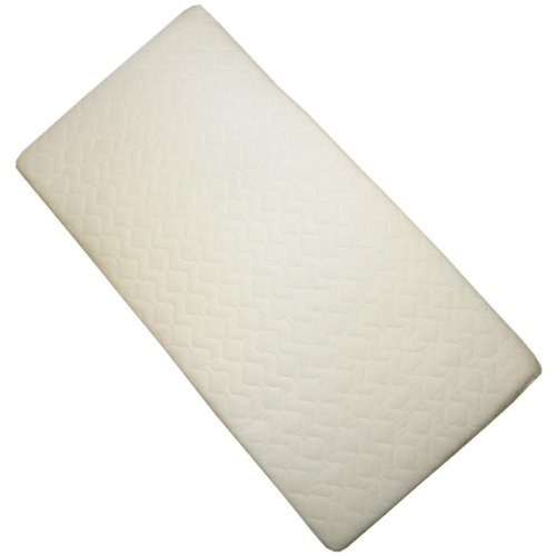 BabyPrem Cradle Mattress 35 x 16 x 1.5 Inches Quilted