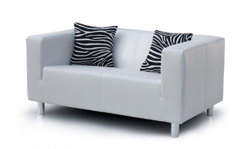 B-famous-3-Sitzer-Sofa-Cube-183-x-85-cm-PU-schwarz