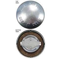 Gorra de depósito de combustible, diseño de Allis Chalmers, internacional, John Deere, Massey Harris, Oliver, 161945A