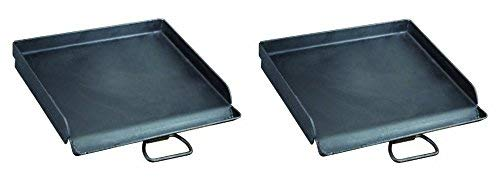 Camp Chef SG30 Professional Steel Fry Flat Top Griddle, Pre-Seasoned - Fits All Blue Flame Stoves (single burner) (Pack of 2)
