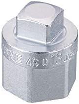 """トネ(TONE) ドレンボルトソケット 4SQ-13 差込角12.7mm(1/2"""") 二面幅13mm"""