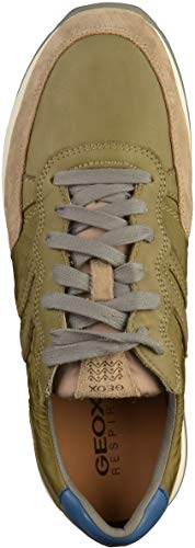 Geox C0152 military Homme Vert Sneakers C U sand Basses Vincit ZnxwZFr1
