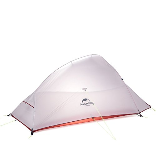 Naturehike Cloud-Up Ultra-light 4 Season 2 Person Tent (gray(upgrade))