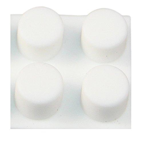 Self Adhesive EMAXELER Rubber Feet-Door Anti Vibration and A