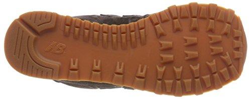 brown A Uomo Sneaker Pigskin Basso Balance Full Collo New Marrone 574 8q7tB