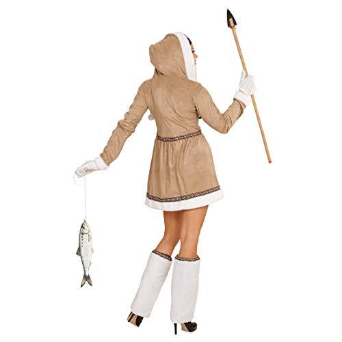Lindo Disfraz de Dama Esquimal / Beis-Blanco XL (ES 48/50 ...