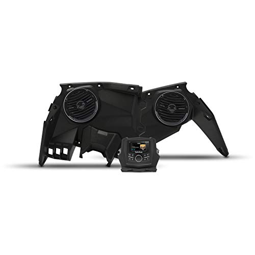 - Rockford Fosgate X3-STAGE2 Stereo and Front Speaker kit for Select Maverick X3 Models