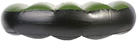 Cojín Hinchable para Kayak y Piragua Almohadilla Inflable del Asiento del Barco Cojín de Asiento del PVC para Kayak Barco Hinchable